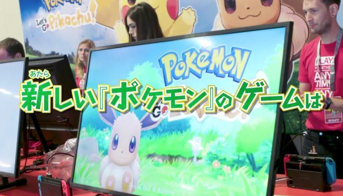 Pokémon: Let's Go, Pikachu! & Let's Go, Eevee! – Pokémon Worlds 2018 Demo Reactions