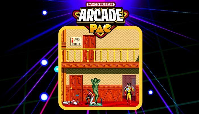Namco Museum Arcade Pac – Launch Trailer