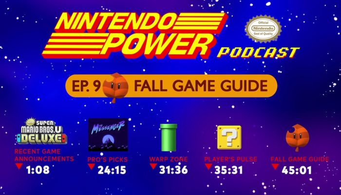 Nintendo Power Podcast Ep. 9 – Fall Game Guide 2018: Fortnite, Pokémon: Let's Go & More!