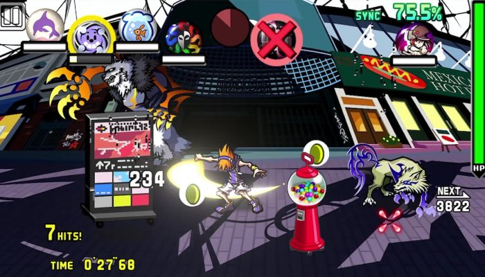 The World Ends with You: Final Remix – Pinning Down Battle Info Trailer