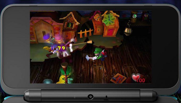 Luigi's Mansion – Bande-annonce pas si terrifiante que ça