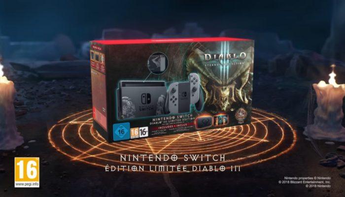 Diablo III Eternal Collection – Bande-annonce de la console Nintendo Switch édition limitée