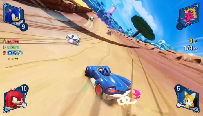 Team Sonic Racing – Japanese Demo Gameplay at Tokyo Game Show 2018