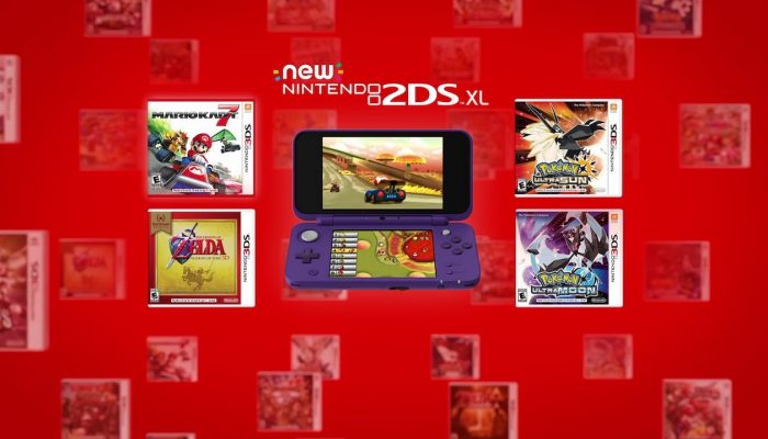 Nintendo 3DS – Introducing the New Nintendo 2DS XL Mario Kart 7 Bundle Commercials