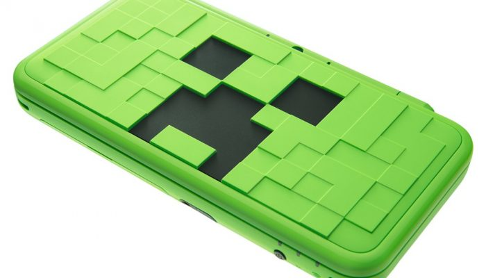 Minecraft New Nintendo 2DS XL Creeper Edition launching October 19 in Europe