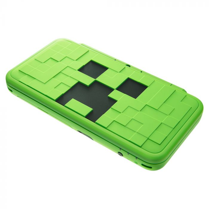 Minecraft New Nintendo 2DS XL Creeper Edition