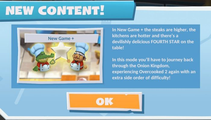 New Game Plus coming to Overcooked 2