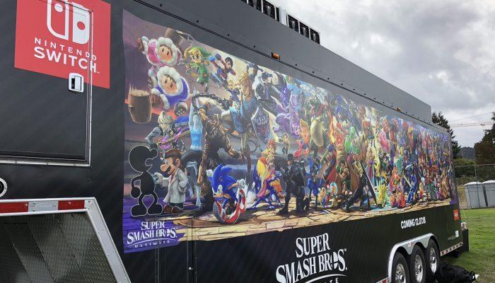 The Super Smash Bros. Ultimate Tailgate Tour at Oregon Ducks vs. Stanford Football
