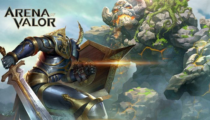 NoA: 'Arena of Valor, one of the world's most popular free-to-play games, is now available for Nintendo Switch!'