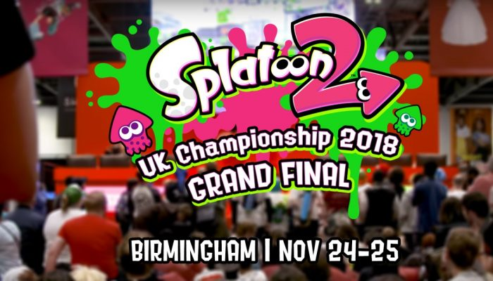 Nintendo UK: 'Join a Splat-tastic celebration as @NintendoUKVS presents the Splatoon 2 UK Championship 2018 Grand Final at MCM Birmingham Comic Con this November!'