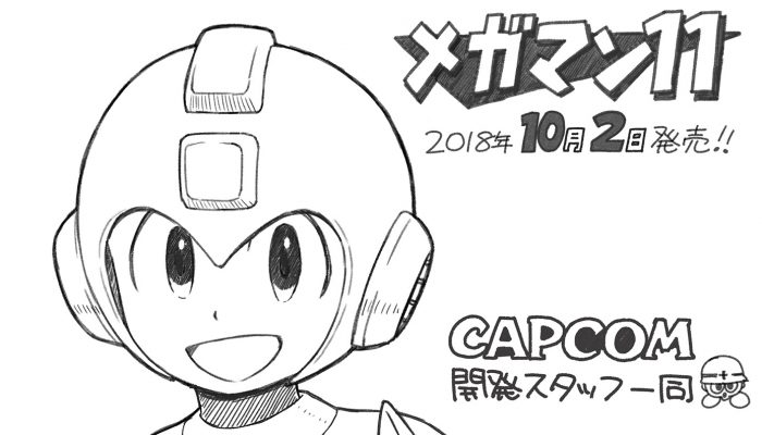 Capcom: 'READY? Mega Man 11 is out now!'