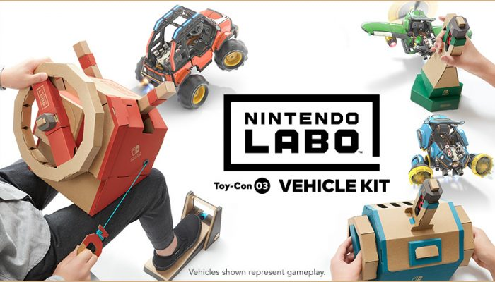 NoA: 'Hop into the driver's seat with Nintendo Labo Vehicle Kit, now in stores'