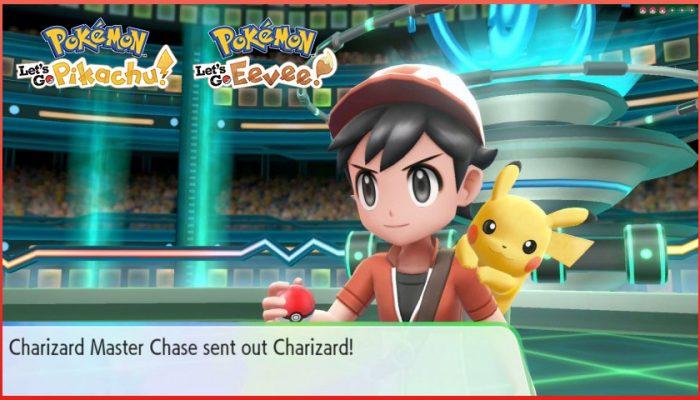 NoA: 'Challenge Master Trainers in Pokémon: Let's Go, Pikachu! and Pokémon: Let's Go, Eevee!'