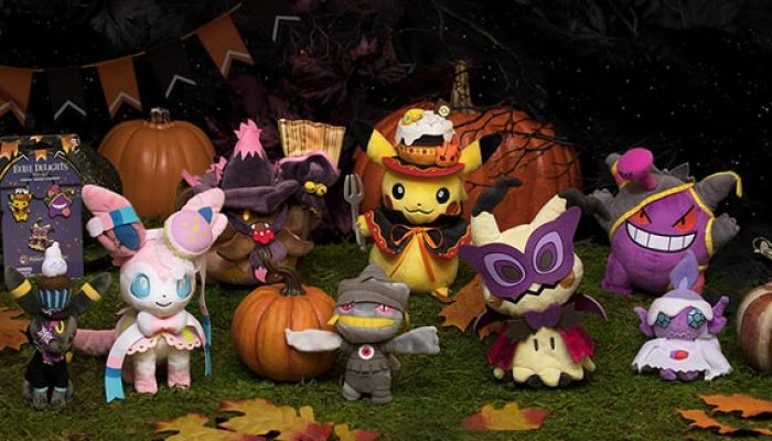 Pokémon: 'Pikachu and Friends Gear Up for Halloween'