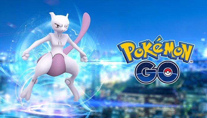 Pokémon: 'Catch Mewtwo in Pokémon Go!'