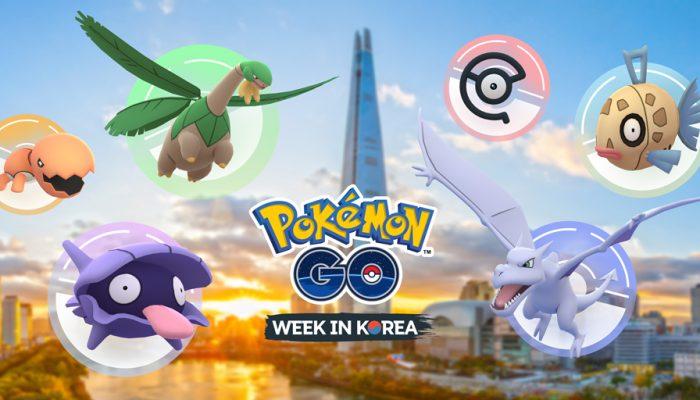 Niantic: 'Pokémon Go Week in Korea!'
