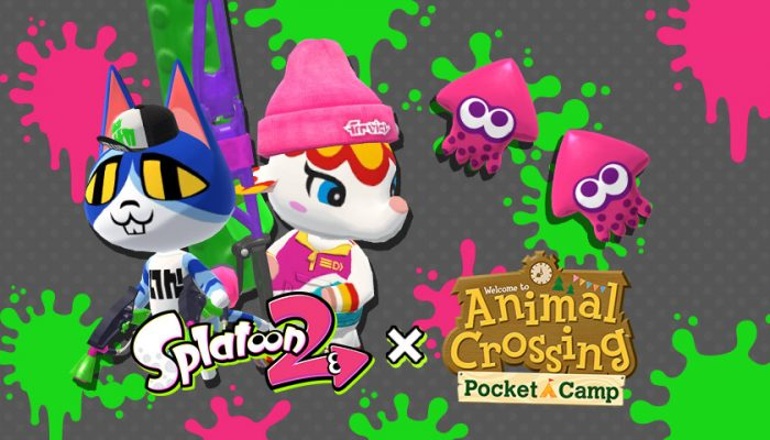 NoA: 'Animal Crossing: Pocket Camp Splatoon 2 Crossover Event'