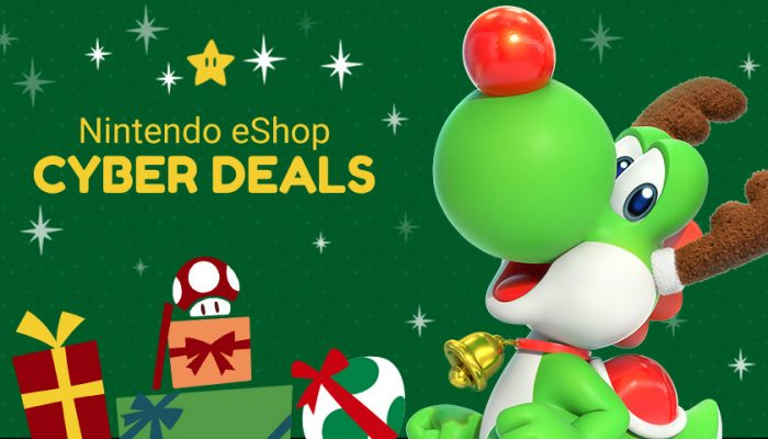 NoA: 'Treat yourself to big savings and discounts with Nintendo eShop Cyber Deals'