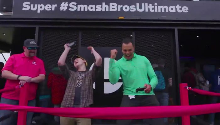 This is the Super Smash Bros. Ultimate Tailgate Tour