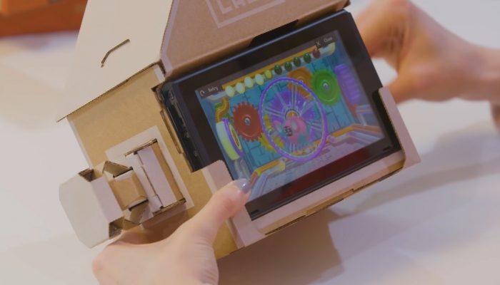 Nintendo Labo UK – Nintendo Labo Toy-Con House Minigames Madness!