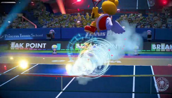 Mario Tennis Aces – Koopa Paratroopa Showcase