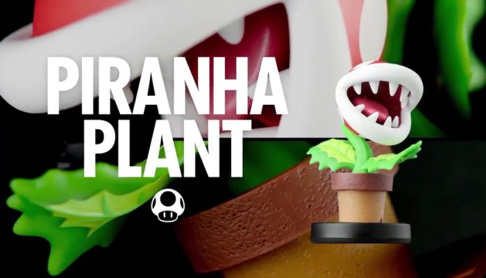 Check out the Piranha Plant amiibo in 360°
