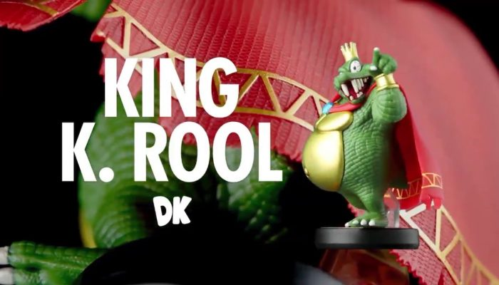 Check out the King K. Rool amiibo in 360°