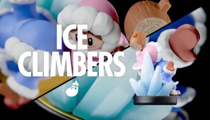 Check out the Ice Climbers amiibo in 360°