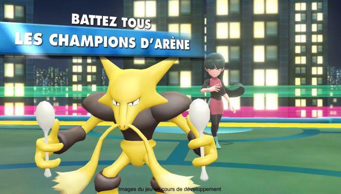 Pokémon : Let's Go, Pikachu & Let's Go, Évoli – Bande-annonce Relevez le défi ultime en devenant Maître Pokémon !