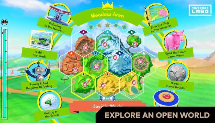 Nintendo Labo – Vehicle Kit: Go explore with Adventure mode!