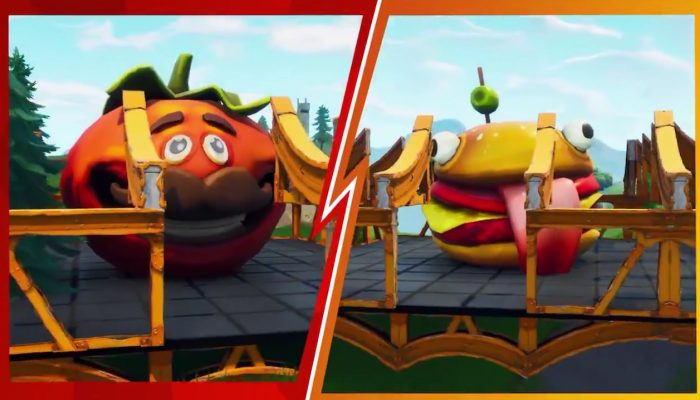 It's #TeamBurger vs. #TeamPizza in Fortnite