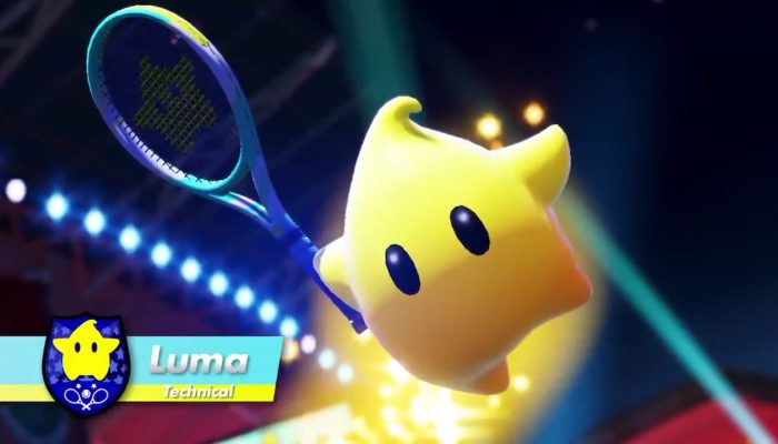 Luma, Boom Boom and Pauline are coming to Mario Tennis Aces in 2019