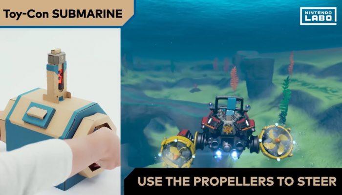 Nintendo Labo – Vehicle Kit: Toy-Con Submarine