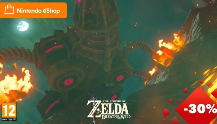 Nintendo eShop – Cyber-offres 2018 : Jusqu'à 75 % de réduction !