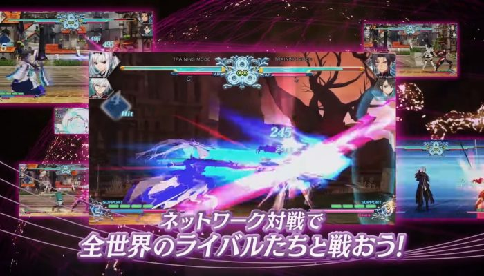 Blade Arcus Rebellion from Shining – Japanese Teaser Trailer