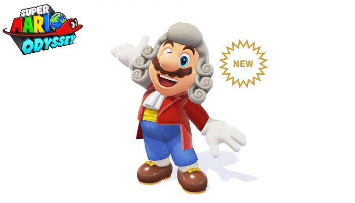 Conductor Wig & Conductor Outfit added to Super Mario Odyssey