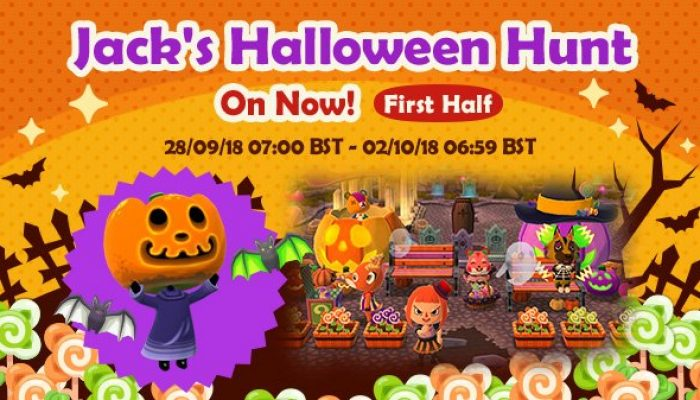 Jack's Halloween Hunt in Animal Crossing Pocket Camp