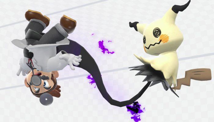 A look at Mimikyu in Super Smash Bros. Ultimate