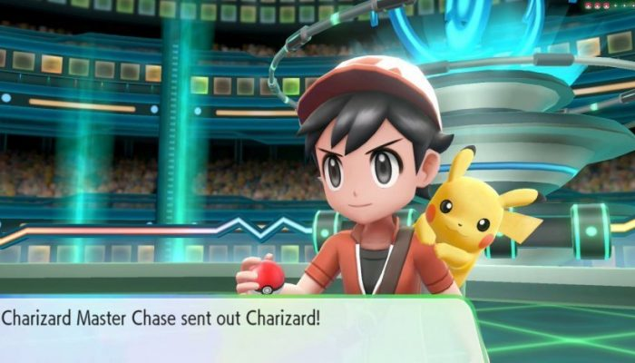 Prepare to face Master Trainers in the Pokémon Let's Go games