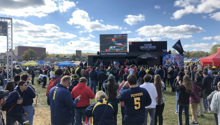The Super Smash Bros. Ultimate Tailgate Tour at Horned Frogs vs. Oklahoma Football
