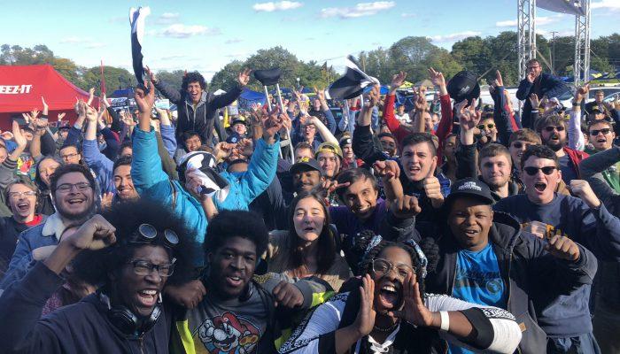 The Super Smash Bros. Ultimate Tailgate Tour at Michigan Football vs. Wisconsin Football