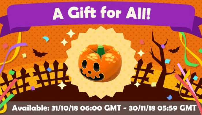 Get a pumpkin head in Animal Crossing Pocket Camp