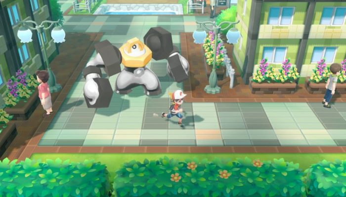 Check out Melmetal in the Pokémon Let's Go games