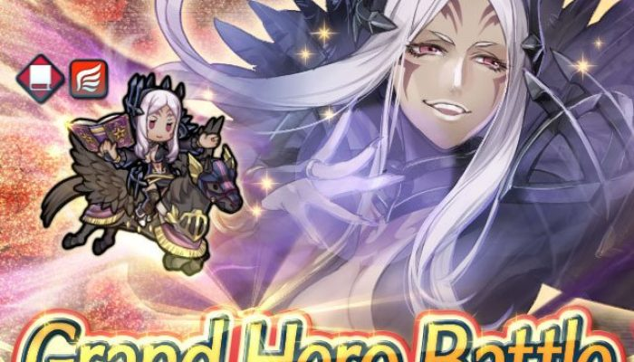 Aversa as a Grand Hero Battle in Fire Emblem Heroes