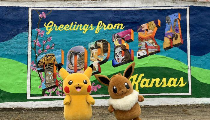 Topeka, Kansas renamed ToPikachu for the Pokémon Let's Go Road Trip on October 27