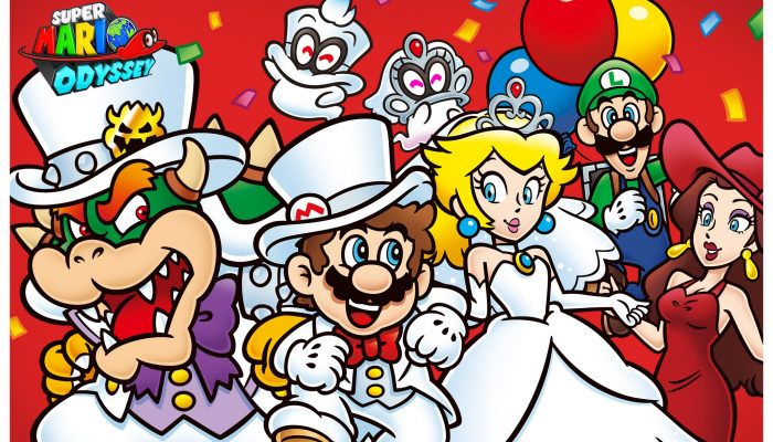 Nintendo celebrates the first-year anniversary of Super Mario Odyssey with an artwork