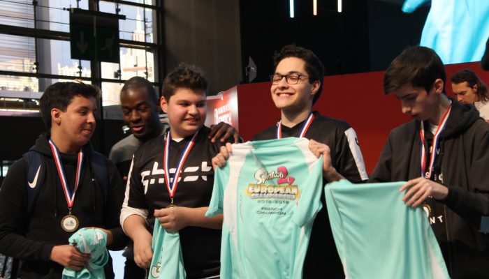 L'Alliance Rogue sacrée championne de France de Splatoon 2 à la Paris Games Week 2018