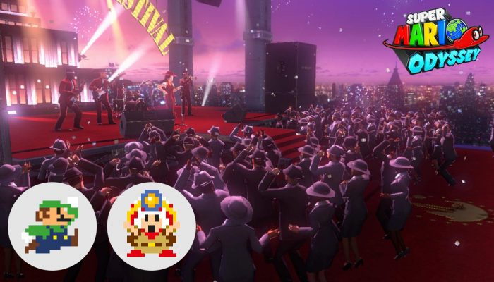 Super Mario Odyssey also celebrates Super Mario Odyssey's first-year anniversary