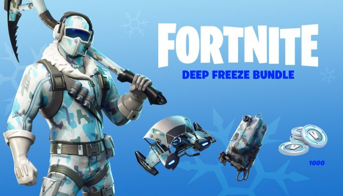 Get the Fortnite Deep Freeze Bundle on Nintendo Switch