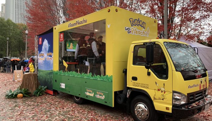 Pokémon Let's Go Road Trip's journey in Chicago